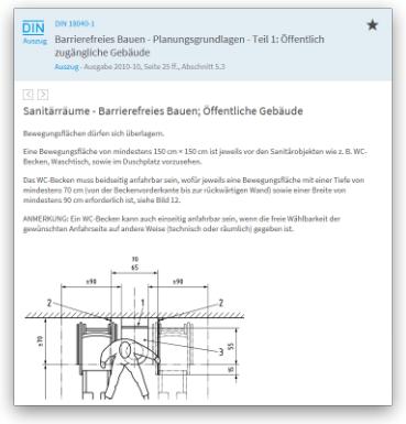 DBD-BIM Anwendung DIN-Normen